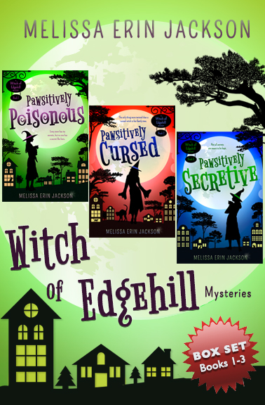 A Witch of Edgehill Mystery Box Set: Books 1-3 Cover