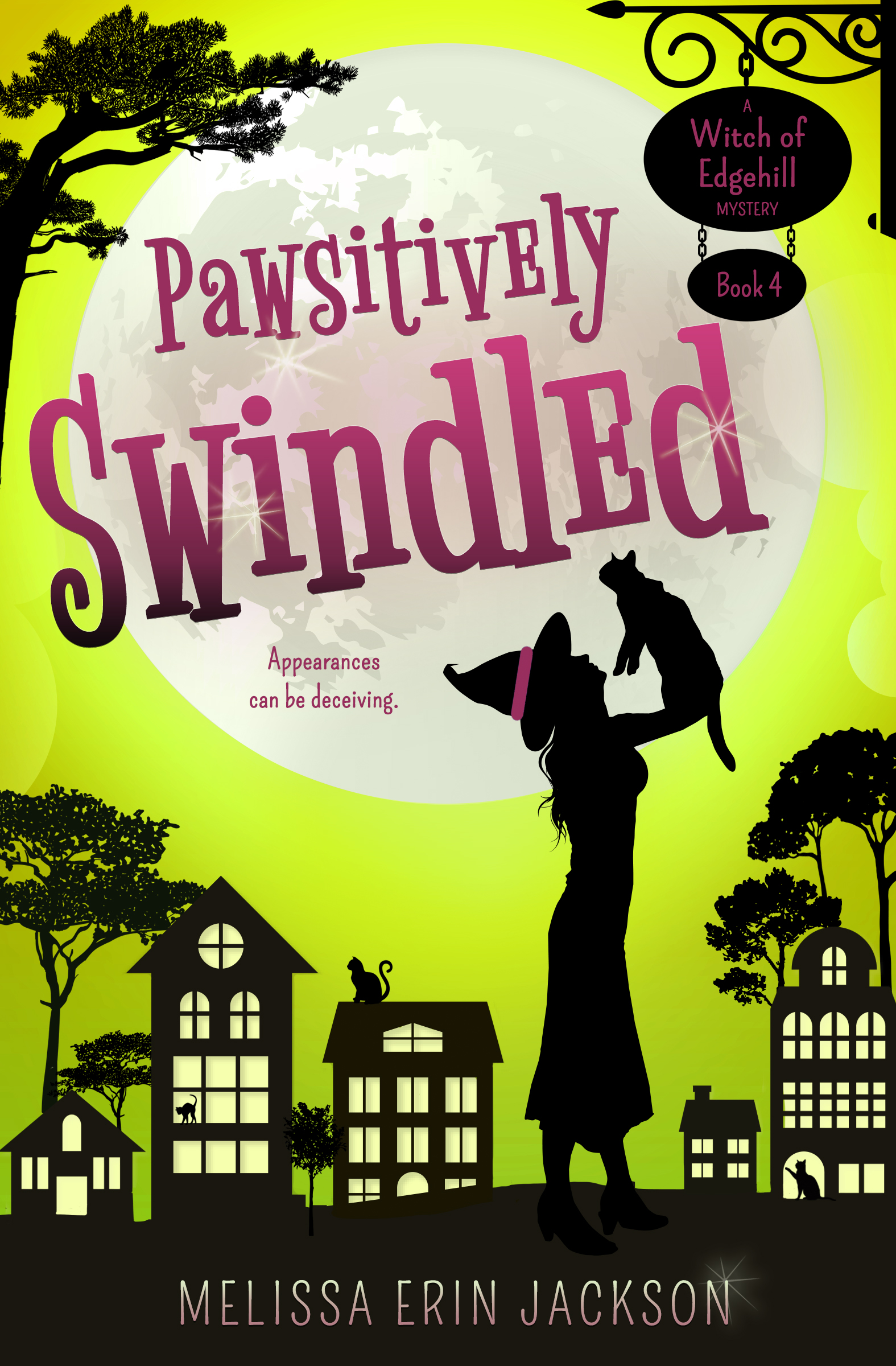 Pawsitively Swindled Cover